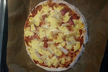 Marinas Pizzateig mit Backpulver 36