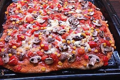 Marinas Pizzateig mit Backpulver 8
