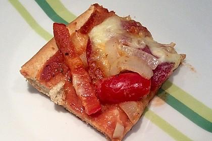 Marinas Pizzateig mit Backpulver 21