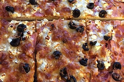 Marinas Pizzateig mit Backpulver 20