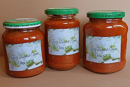 Curry - Zwiebel - Sauce 2
