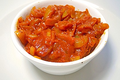 Curry - Zwiebel - Sauce 4
