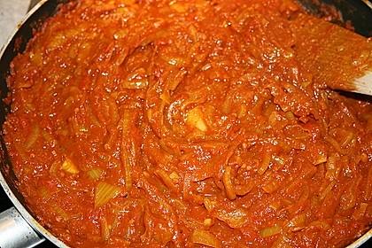 Curry - Zwiebel - Sauce 9
