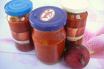 Curry - Zwiebel - Sauce 12