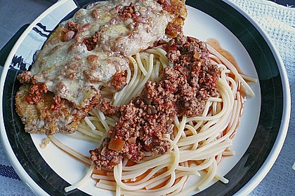 Schnitzel Parmigiana 4