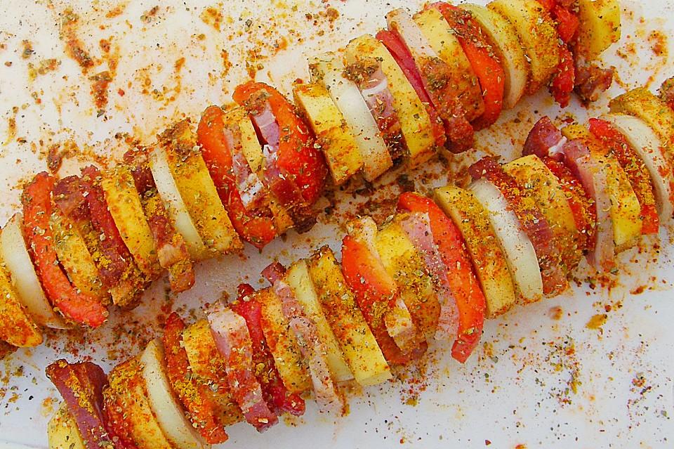 Kartoffelspieße Für Den Grill 8