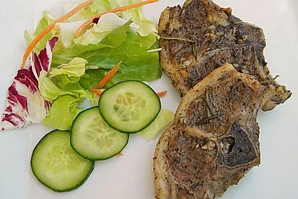 Gegrillte marinierte Lammkoteletts 1