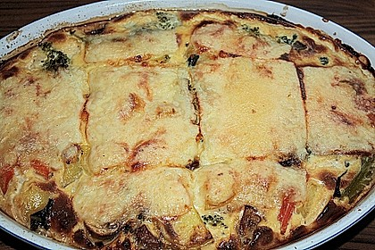 Saftiger Kartoffel - Gemüse - Auflauf 5