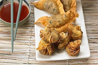 Asiatische Teigtaschen 1