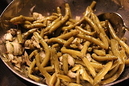Bohnensalat (Bild)