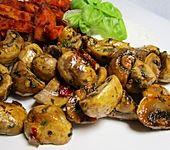 Knoblauch - Chili - Champignons