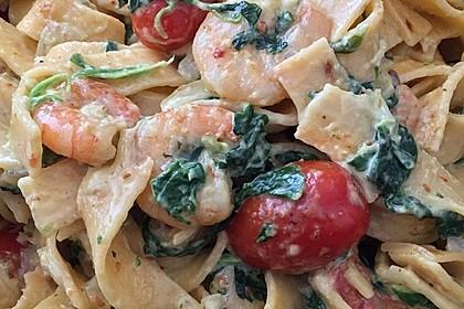 Pasta Scampi e Spinaci alla  Vapiano 17