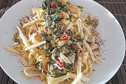 Pasta Scampi e Spinaci alla  Vapiano 6