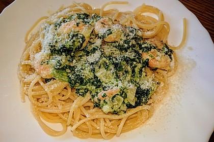 Pasta Scampi e Spinaci alla  Vapiano 15