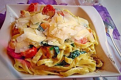 Pasta Scampi e Spinaci alla  Vapiano 11