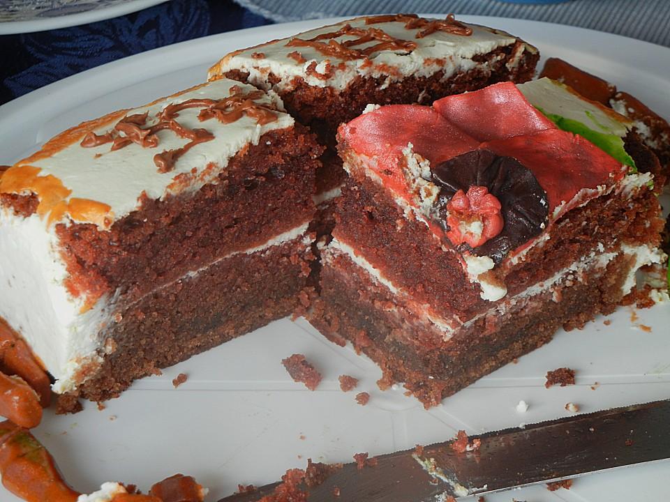 Red Velvet Cheesecake (Rezept mit Bild) von kaddistar | Chefkoch.de
