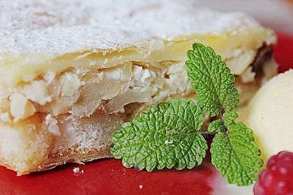 Blätterteig - Apfelschnitten 12
