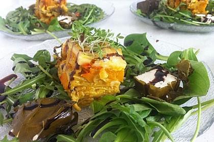 Vegetarische Kürbis-Mangold-Lasagne 4