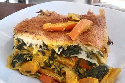 Vegetarische Kürbis-Mangold-Lasagne 10