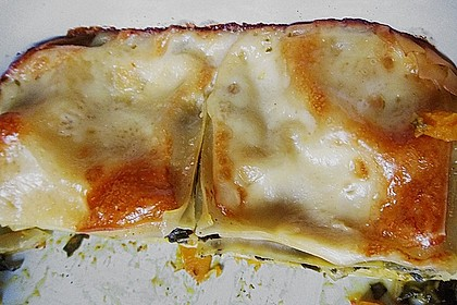 Vegetarische Kürbis-Mangold-Lasagne 13