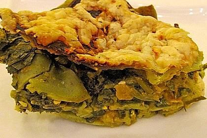 Vegetarische Kürbis-Mangold-Lasagne 14