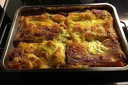 Vegetarische Kürbis-Mangold-Lasagne 12