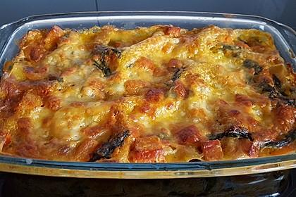 Vegetarische Kürbis-Mangold-Lasagne 3