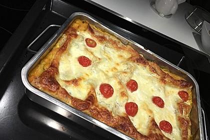Vegetarische Kürbis-Mangold-Lasagne 7