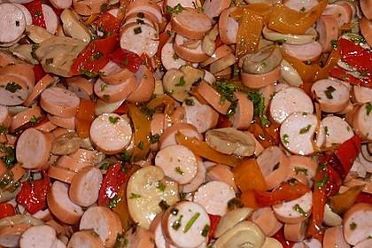 Wiener Würstchensalat 1