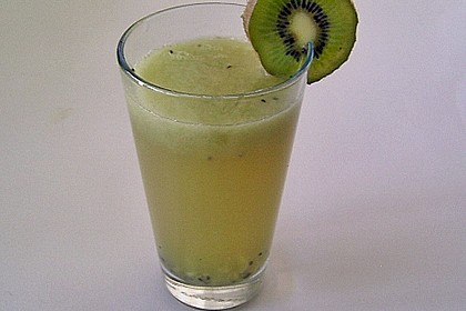 Kiwi - Apfel - Cocktail 1