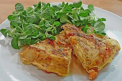 Kartoffel - Paprika - Tortilla 2