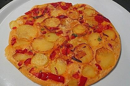 Kartoffel - Paprika - Tortilla 4