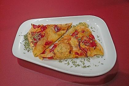 Kartoffel - Paprika - Tortilla 3