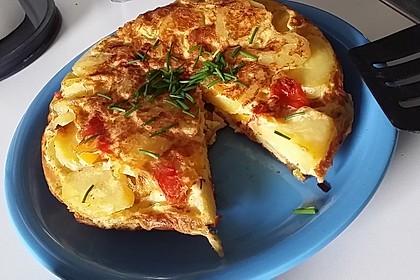 Kartoffel - Paprika - Tortilla 7