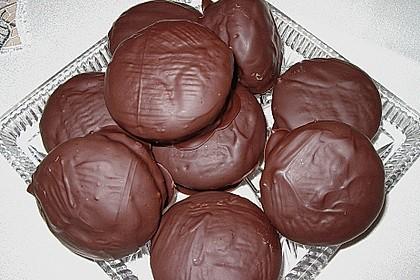 Schokoküsse aus der Muffinform 0