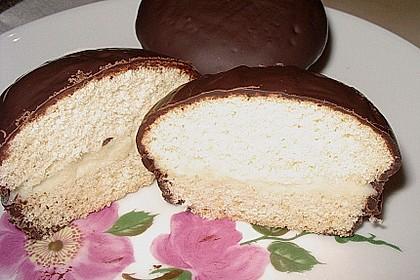 Schokoküsse aus der Muffinform 1