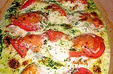 Gorgonzola - Schweinefilet auf Blattspinat