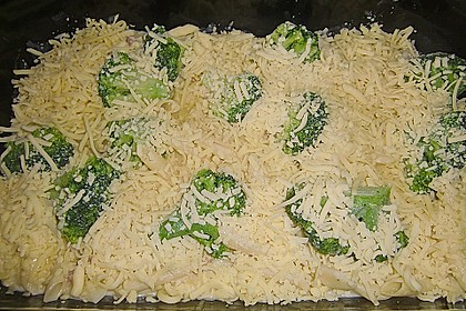 Nudel - Brokkoli - Auflauf mit Speck 3