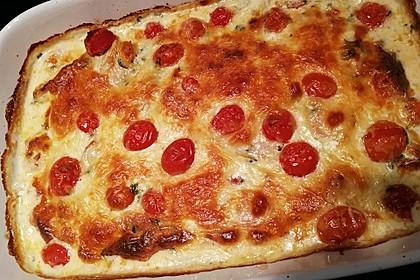Mozzarella - Hähnchen in Basilikum - Sahnesauce 292