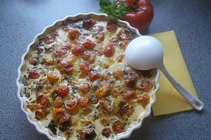 Mozzarella - Hähnchen in Basilikum - Sahnesauce 28