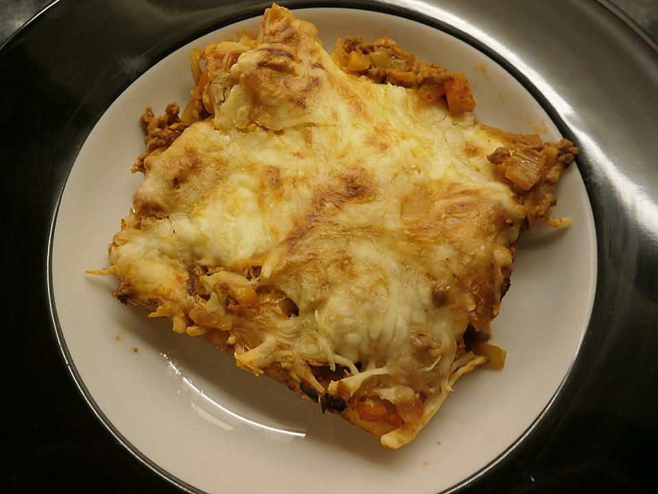 hackfleisch lauch lasagne rezept mit bild von moosmutzel311. Black Bedroom Furniture Sets. Home Design Ideas