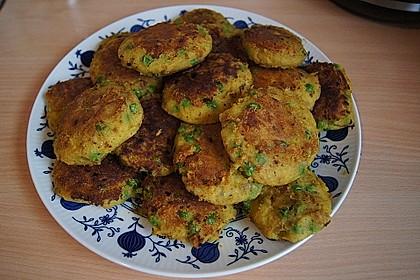 Indische Kartoffelplätzchen 2