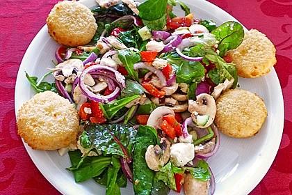 Kreta Feldsalat mit Schafskäse 8