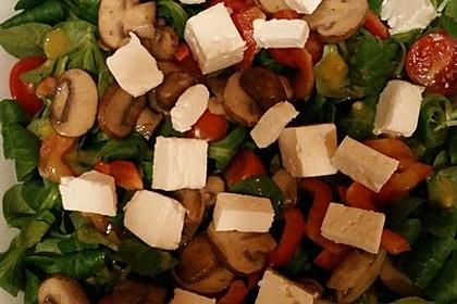 Kreta Feldsalat mit Schafskäse 13