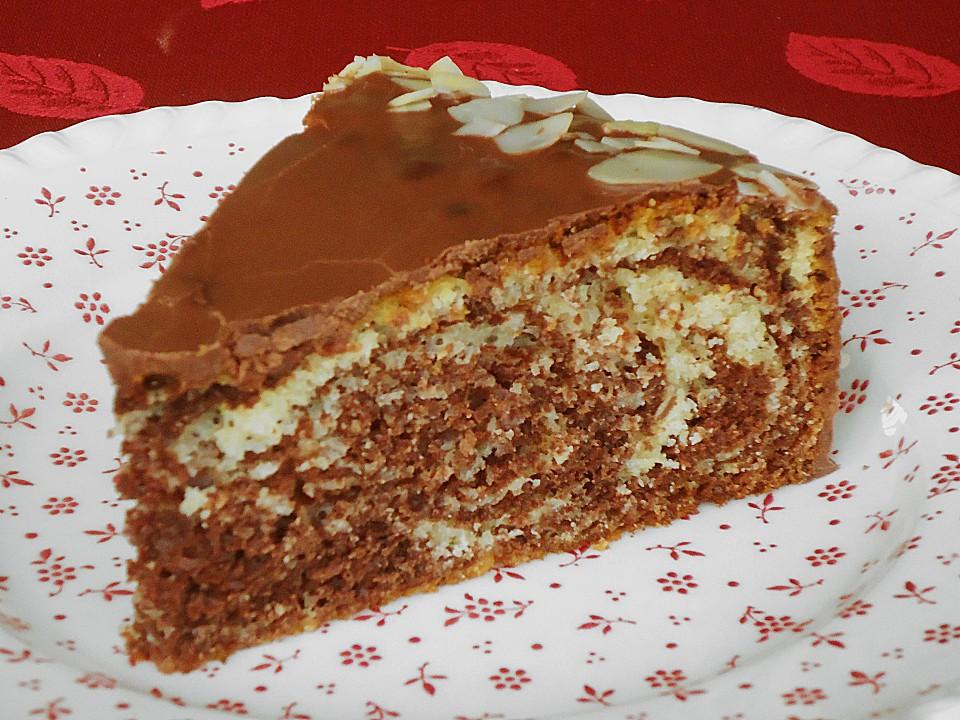 Leichte kuchen mit sahne