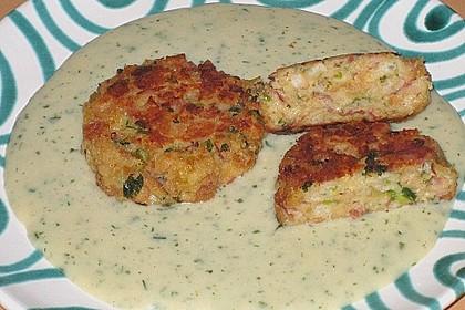 Schinken - Porree - Käse - Laibchen 1