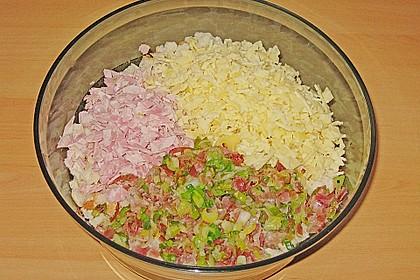 Schinken - Porree - Käse - Laibchen 8