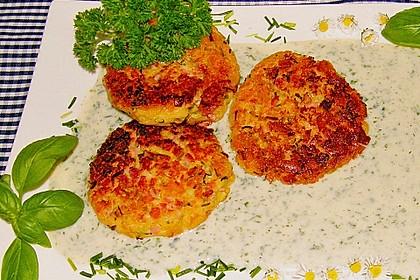 Schinken - Porree - Käse - Laibchen 5
