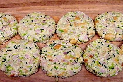 Schinken - Porree - Käse - Laibchen 7