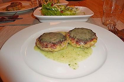 Schinken - Porree - Käse - Laibchen 2